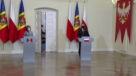 В Варшаве прошла встреча президентов Молдовы и Польши