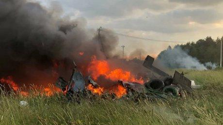 В Ленинградской области разбился вертолёт Росгвардии (ВИДЕО)
