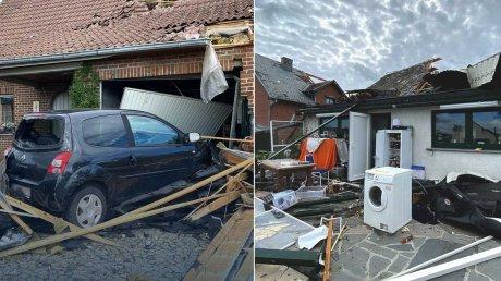На юге Бельгии пронесся разрушительный торнадо: пострадали 17 человек