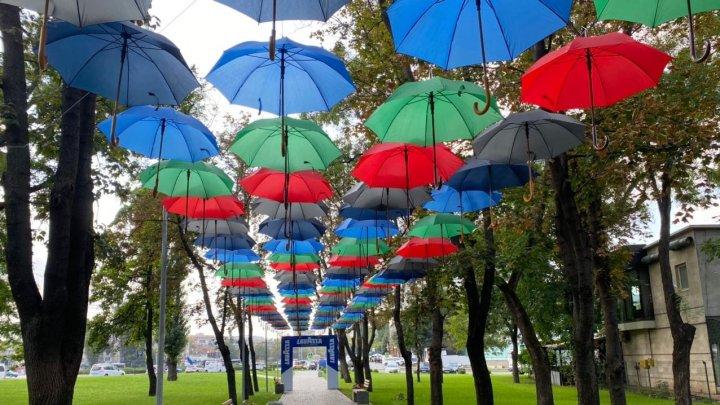 Кишиневская мэрия приглашает горожан и гостей столицы на фестиваль зонтов