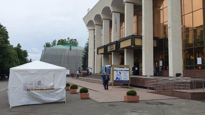 Кому пора на прививку? Во Дворце Республики проходит второй этап Кишинёвского марафона вакцинации
