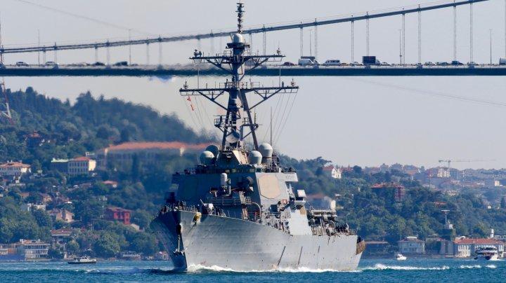 В Чёрное море зашёл американский эсминец Laboon
