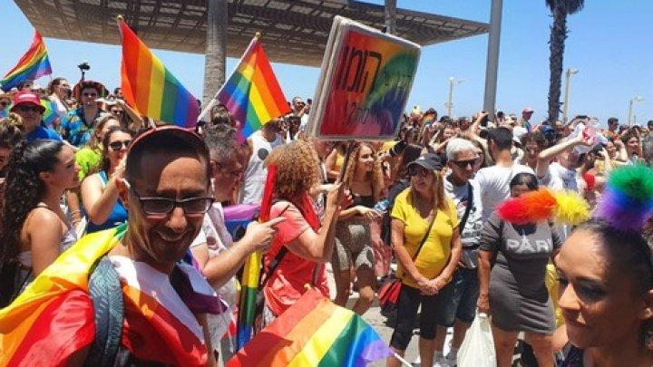 Около 100 тысяч участников собрались на Парад гордости в Тель-Авиве