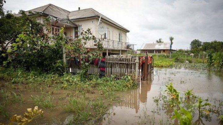 В Чимишлийском районе из-за ливней затопило дворы и огороды, а дожди не прекращаются