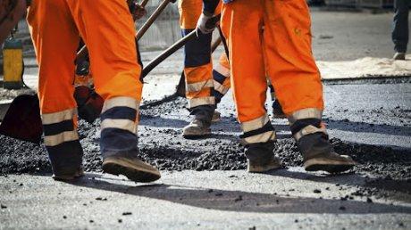Начался ямочный ремонт на некоторых самых оживленных улицах Кишинева