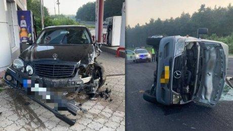 ДТП в Оргеевском районе по вине пьяного водителя: шесть человек попали в больницу