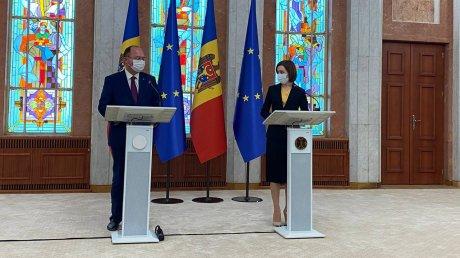 Румыния готова подписать новое соглашение о безвозмездной финансовой помощи Молдове
