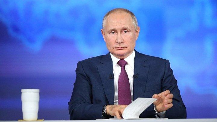 Президент России ушёл на самоизоляцию