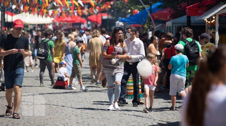 От кесадильи до суши: репортаж с гастрономического фестиваля в центре Кишинёва (ФОТО)