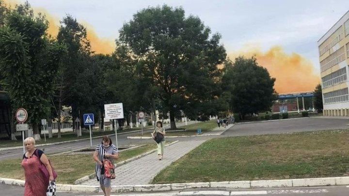 Специалисты: авария на химзаводе в Ровно не повлияла на уровень загрязнения воздуха в Молдове