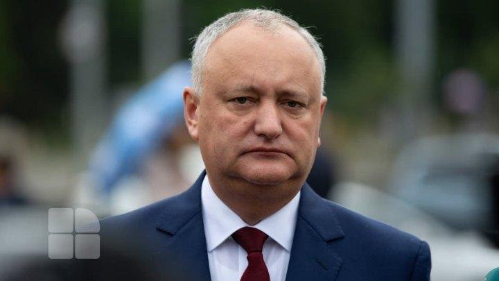Игорь Додон отказывается быть депутатом. Кто может занять его кресло в парламенте