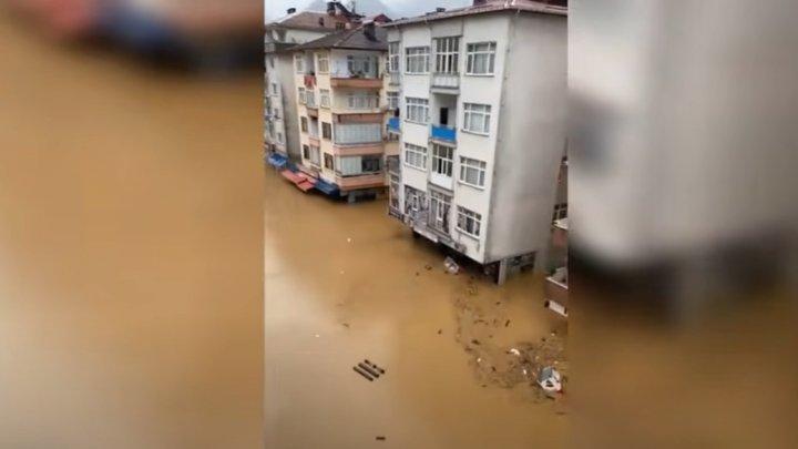 Черноморские регионы Турции объявили зонами стихийного бедствия