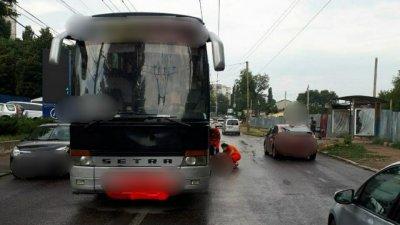 В Кишинёве автобус насмерть сбил 82-летнего пешехода