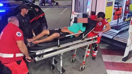 В Комрате карабинеры помогли лежавшему без сознания мужчине