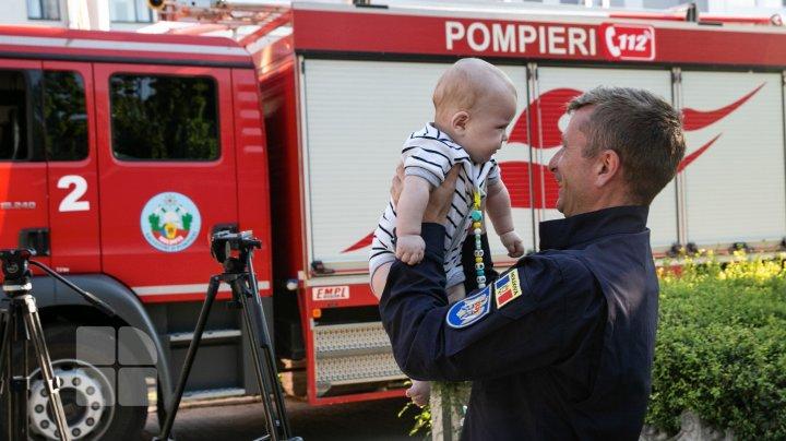 Пожарные из Молдовы отправились в Грецию помогать в борьбе с огнём (ФОТОРЕПОРТАЖ)