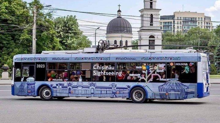 Кишинёвский туристический троллейбус выполнил первые рейсы: впечатления пассажиров