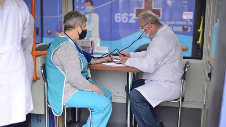 Где найти мобильные пункты вакцинации в Кишинёве в среду, 4 августа