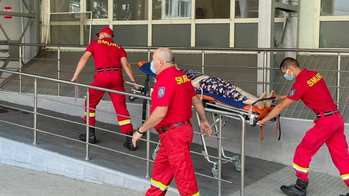 В Кишинёв привезли гражданку Молдовы, пострадавшую в аварии за границей