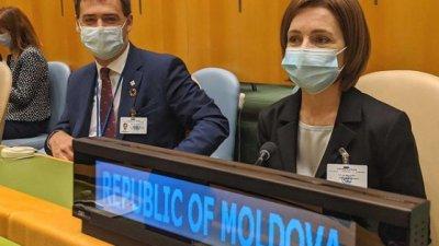 Санду в Нью-Йорке: о чем договорилась президент в рамках сессии 76 Генассамблеи ООН
