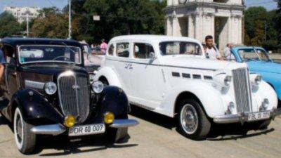 В Кишинёве прошёл благотворительный парад ретро-автомобилей