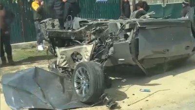 В Хынчештском районе 22-летний любитель скорости разбил машину и едва не угодил на тот свет