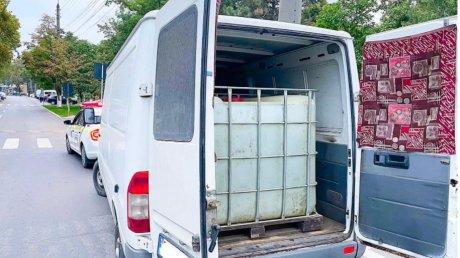 В Калараше полиция конфисковала более трёх тонн нелегального спирта, стоимостью около 300 тысяч леев