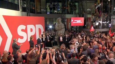Выборы в Германии: с минимальным перевесом лидируют социал-демократы
