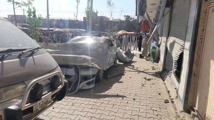 Взрыв машины на юго-западе Кабула: пострадали минимум два человека