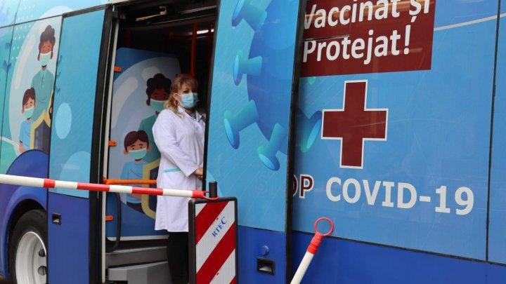 Мобильные пункты вакцинации в воскресенье дежурят на Ботанике