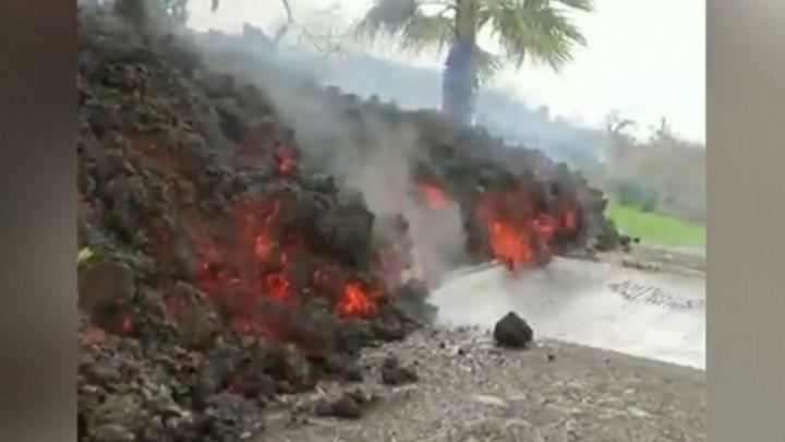 Вулкан на Канарах неожиданно прекратил извергать лаву
