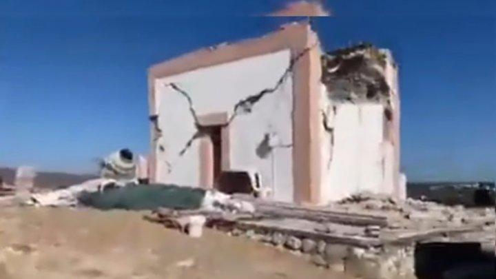 Сильное землетрясение на Крите: погиб как минимум один человек