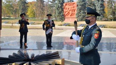 В Кишинёве временно отключили от газоснабжения Вечный огонь