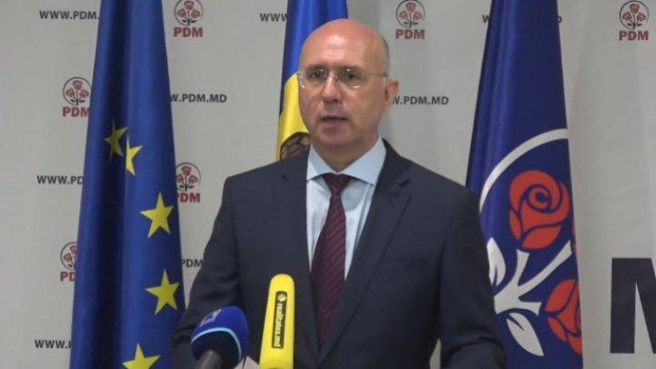 Павел Филип объявил об уходе с поста руководителя Демократической партии Молдовы (ВИДЕО)